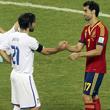 Даниэле де Росси, сборная Италии, сборная Испании, Чезаре Пранделли, Кубок конфедераций