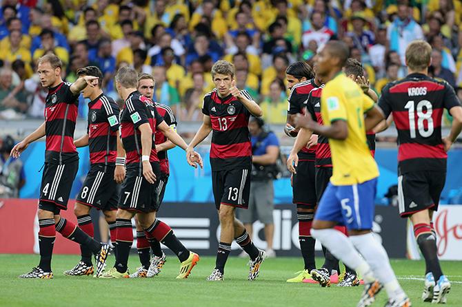 Бразилия германия 2016 онлайн