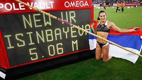 Полет Исинбаевой и еще 10 русских рекордов в легкой атлетике