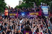 Барселона, примера Испания, бизнес, Жоан Лапорта, Жозеп Бартомеу