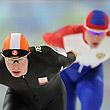 сборная России (коньки), Ванкувер-2010, Иван Скобрев, Свен Крамер, 10000 м (коньки)