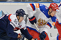 Сборная России обыгрывает словаков в овертайме. Как это было