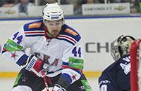 КХЛ, Динамо Минск, фото, Виктор Козлов, Евгений Артюхин