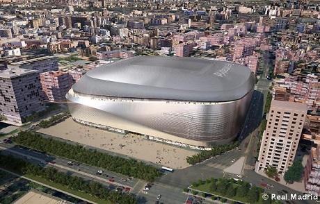 Реал презентовал проект реконструкции Сантьяго Бернабеу - изображение 2
