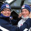 Петер Зендель, Микаэль Лефгрен, Союз биатлонистов Норвегии, сборная Норвегии
