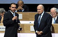 Йозеф Блаттер, Али бин Аль-Хуссейн, ФИФА