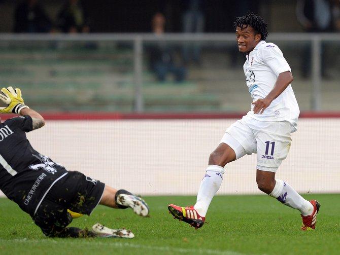 Куадрадо продлил контракт с «Фиорентиной» до 2019 года