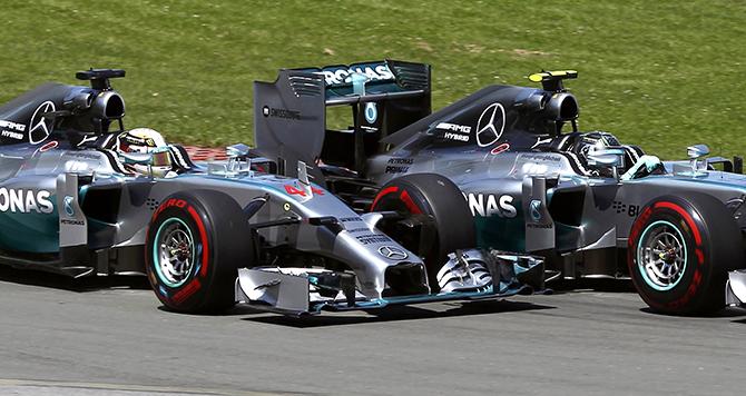 Formula 1. Pilotların komandadaxili müqayisəsi