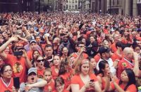 Чемпионский парад «Чикаго» в честь победы в Кубке Стэнли
