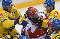 С чем сборные России и Швеции подходят к четвертьфиналу чемпионата мира