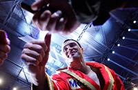 Владимир Кличко, Жан-Марк Мормек, супертяжелый вес, фото