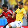 Бразилия – Колумбия – 2:1. Как это было