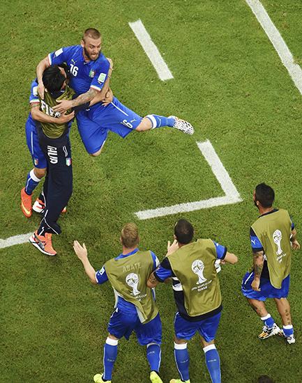 ФОТО: Англия - Италия (14.06.2014)