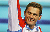 Александр Попов, фото, сборная России, чемпионат мира