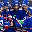 СКА забрасывает 6 шайб, минское «Динамо» вырывает победу в овертайме и другие итоги первого дня Кубка Гагарина