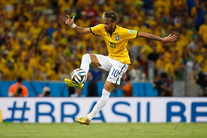 сборная Бразилии, Лионель Месси, ЧМ-2014, Неймар