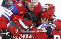 сборная Словакии, сборная России, ЧМ-2012, фото