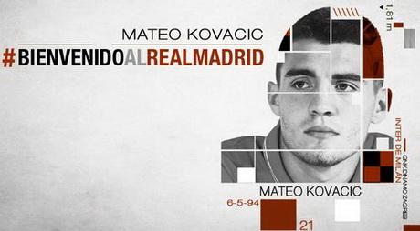 """Матео Ковачич перешел в """"Реал"""" за 28 млн евро"""