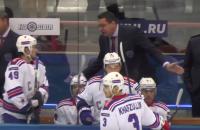 СКА, видео, Андрей Назаров, Антон Бурдасов, КХЛ, Николай Белов