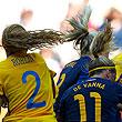 женский футбол, фото, сборная США жен, ЧМ-2011 жен, сборная Швеции жен, сборная Японии жен, сборная Австралии жен