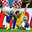 судьи, Деян Ловрен, Фред, ЧМ-2014, сборная Хорватии, сборная Бразилии