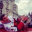Как хоккеисты сборной России отмечают победу на ЧМ-2014. Онлайн
