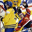 молодежная сборная России, молодежная сборная Канады, молодежная сборная Швеции, молодежный чемпионат мира