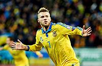 сборная Украины, сборная Словении, видео, Андрей Ярмоленко, квалификация Евро-2016