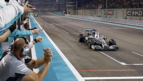 Победа Хэмилтона в чемпионате мира и другие события Гран-при Абу-Даби