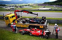 происшествия, Феррари, Кими Райкконен, Макларен, Фернандо Алонсо, Формула-1, Гран-при Австрии