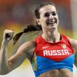 Елена Исинбаева, чемпионат мира, сборная России жен, прыжки с шестом