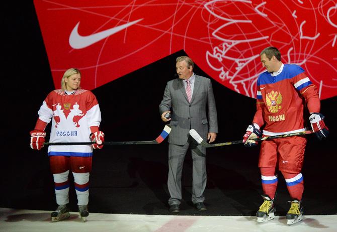 сборная России, Сочи-2014, олимпийский хоккейный турнир, игровая форма