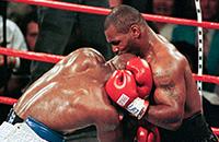 титульные бои, Эвандер Холифилд, Майк Тайсон, WBA, фото