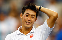 фото, US Open, ATP, WTA, Кеи Нисикори