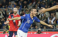 Леонардо Бонуччи, Риккардо Монтоливо, сборная Италии, Антонио Конте, квалификация Евро-2016, Алессандро Флоренци