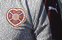 высшая лига Шотландия, Хартс, игровая форма