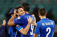 сборная Италии, Антонио Конте, сборная Азербайджана, квалификация Евро-2016, тактика
