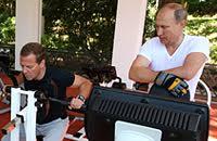 Владимир Путин, Дмитрий Медведев, ЗОЖ