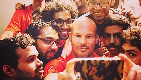 Как живется звездам мирового футбола в Индии