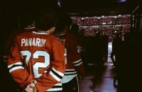 Первый гол Артемия Панарина в НХЛ