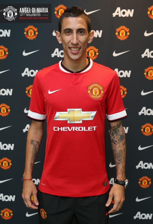 Официально: Ди Мария - игрок Манчестер Юнайтед - изображение 1