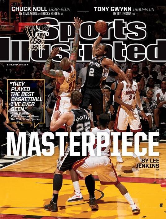 Кавай Ленард попал на обложку Sport Illustrated
