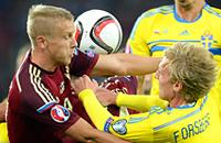 сборная Австрии, сборная России, Евро-2016, сборная Швеции, квалификация Евро-2016