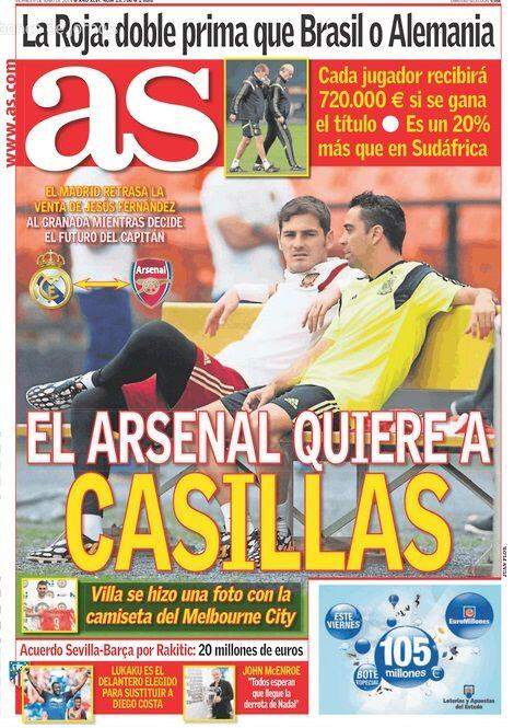 Арсенал интересуется Касильясом - изображение 1
