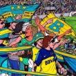 высшая лига Аргентина, Бока Хуниорс, Расинг Авельянеда, болельщики, фото