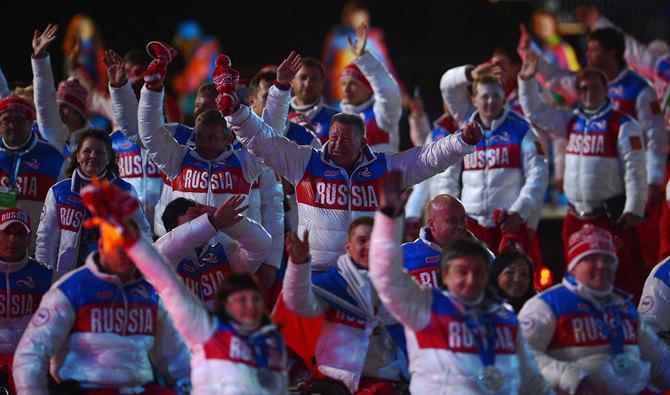 Лучшие фото закрытия Паралимпиады
