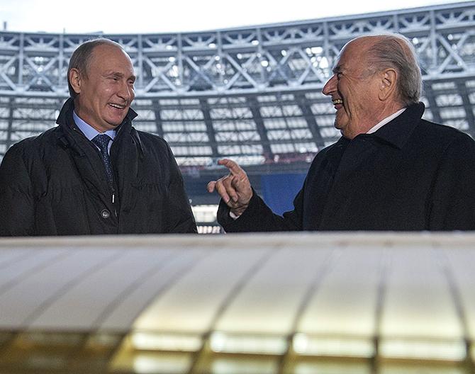 ФИФА, ЧМ-2018, политика