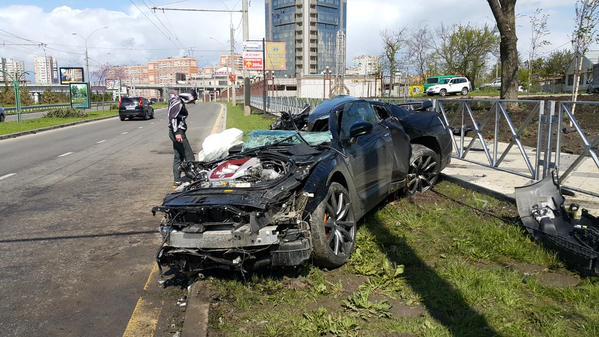 Авария Андрея Ещенко