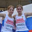 спортивная ходьба, чемпионат мира, Анися Кирдяпкина, Елена Лашманова