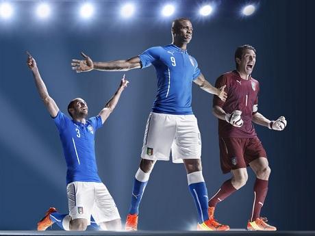 Форма сборной Италии на ЧМ-2014 будет традиционной
